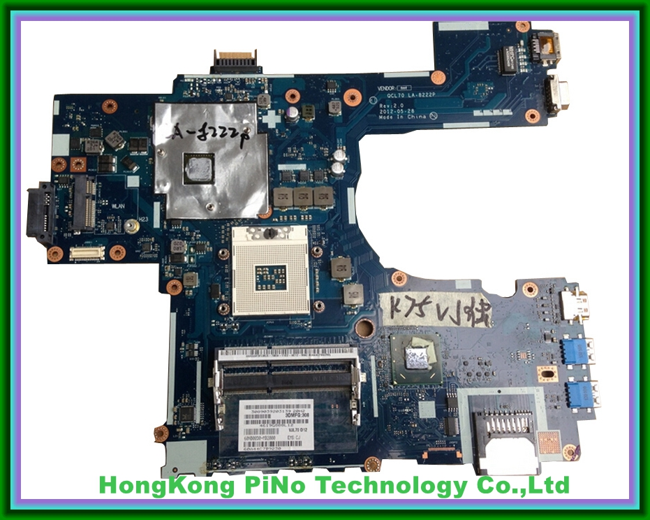 Free shipping K75VM motherboard For Asus K75V K75VJ K75VM motherboard R700VJ QCL70 LA-8222P GT635M 100% Tested OK