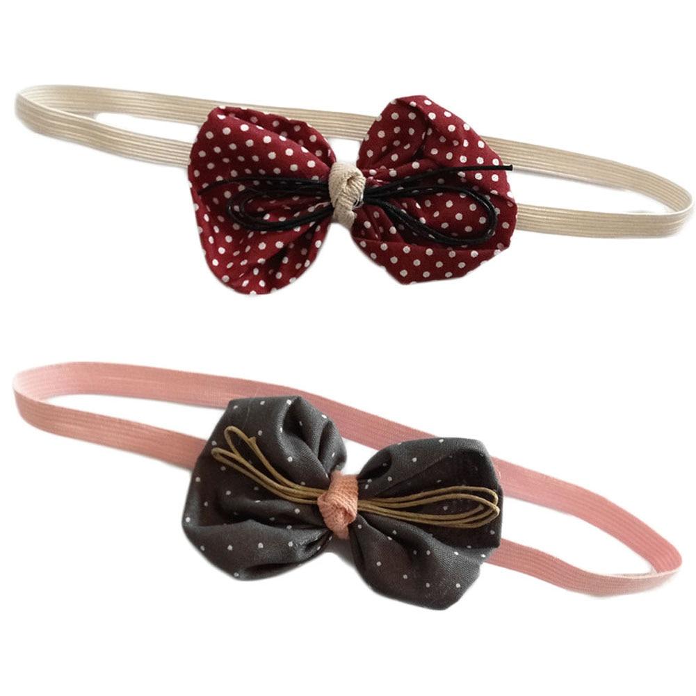 1PC Lovely Kids Headband Bowknot Hairband Headwear Hair Band Accessories