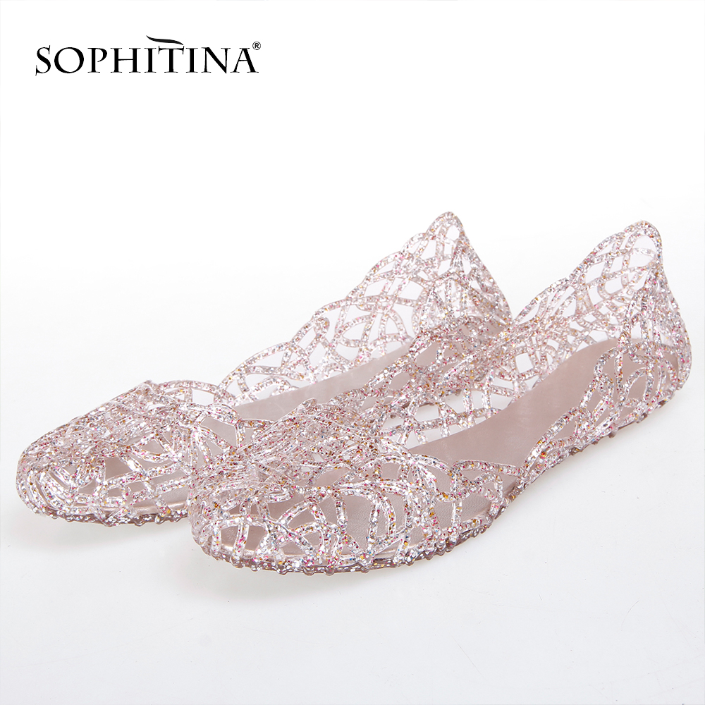 SOPHITINA Special Colors Slippers Comfortable Soft Round Toe Shoes Women's New Slippers SO300