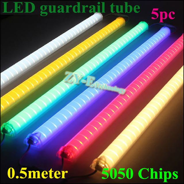 New 5pc 05meter supper bright led guardrail tube led outdoor tube new 5pc 05meter supper bright led guardrail tube led outdoor tube light rgb led tube aloadofball Image collections