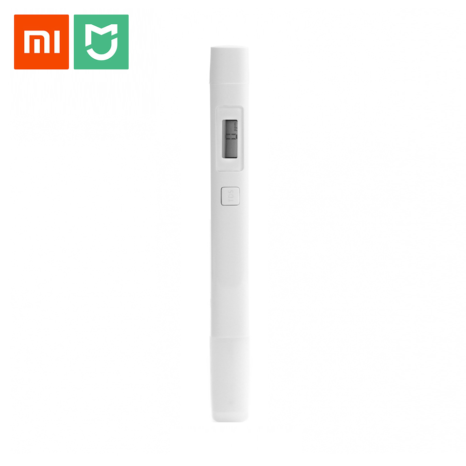 Original Xiaomi TDS Pen TDS Tester Professional Digital Water Quality Purity Digital PH Pocket PenSmart Meter TDS-3 Tester Meter автоаксессуар tds piaggio fly125