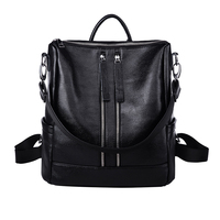 Multifunction Casual School Bag Medium Size Leather Backpack Girl Daily Bag New Arrival Summer Women Backpack