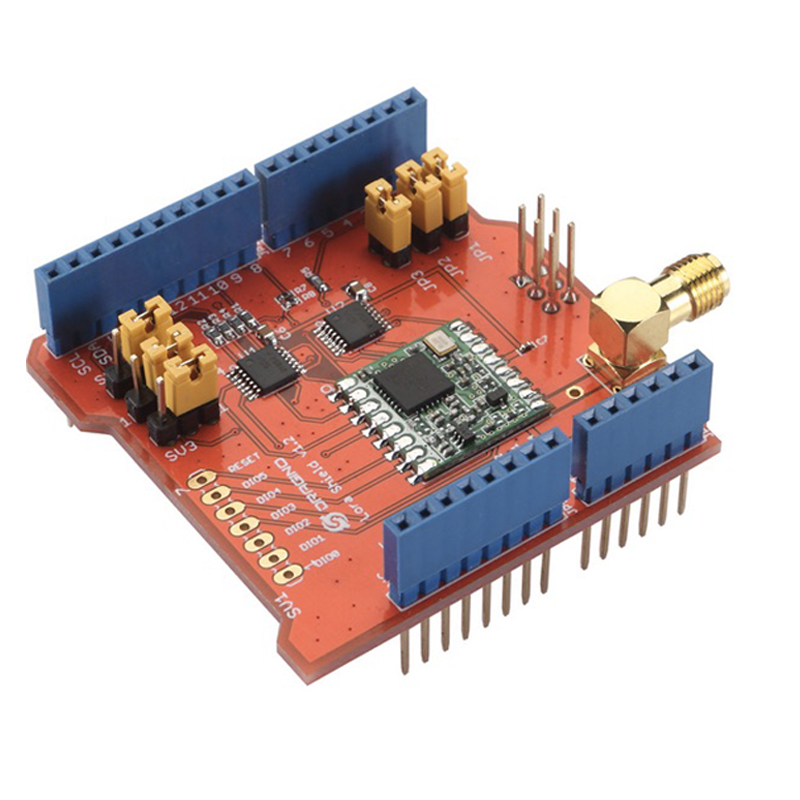 433/868/915Mhz LoRa Shield IOT, Long Distance Wireless Lora Shield for Dragino Arduino Leonardo, UNO, Mega2560, Duemilanove, Due