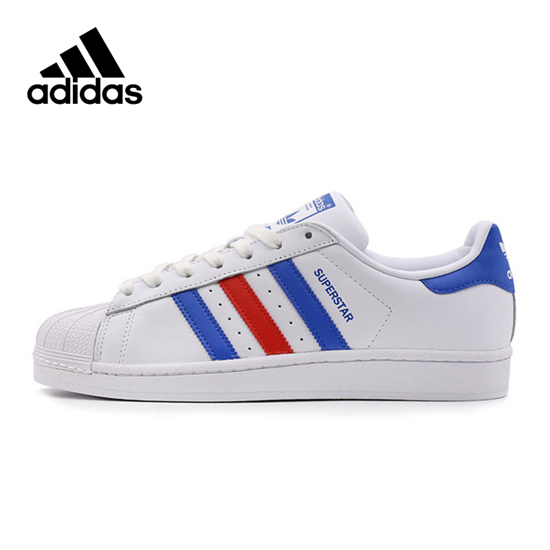 Original New Arrival Official Adidas Superstar Classics Men's Skateboarding Shoes Sneakers adidas x pharrell little kids superstar supercolor