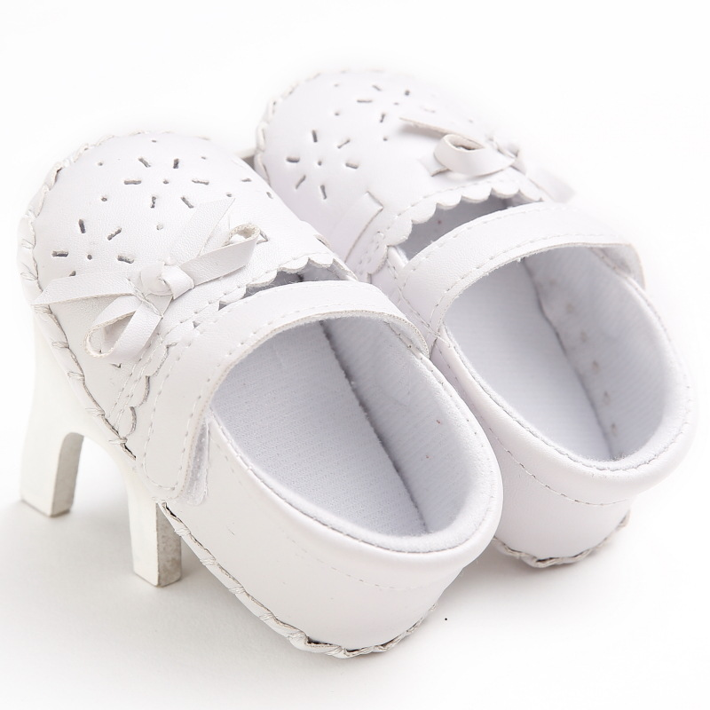 0-1 year old female baby princess shoes rubber bottom baby toddler shoes