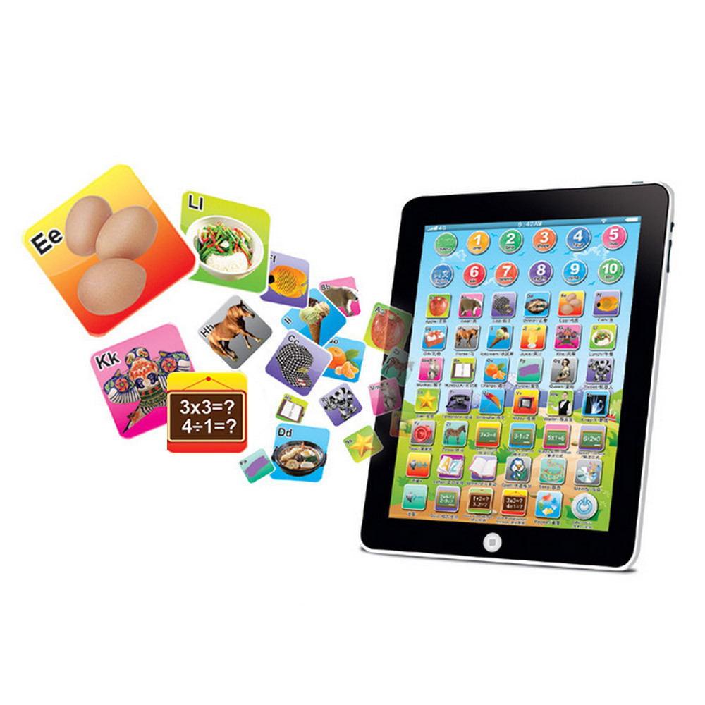 Hot Sale Kids Children Tablet IPAD Educational Learning Toys Gift For Girls Boy Baby Learning Machine Educational Teach Toy 5.29 image