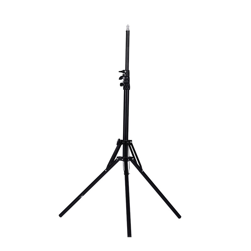Max extension 190cm Light weight portable light standing tripod 1/4 Screw for Ring led lamp Studio LED continue lighting