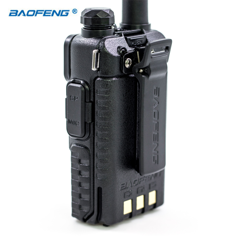 Baofeng UV 5R VHF UHF FM Dual Band VOX Walkie Talkie HAM CB Radio Portable Transceiver 136 174 400 520MHz 5W UV5R Hunting Radios in Walkie Talkie from Cellphones Telecommunications