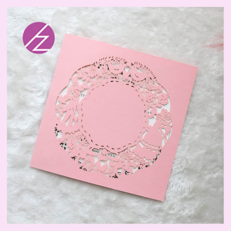 Free shipping Wholesale luxurious Laser Cut baby naming ceremony ...