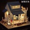 A037 diy большой кукольный домик вилла Праздник кукольный дом миниатюрная Модель Строительство Комплекты Новые приходят