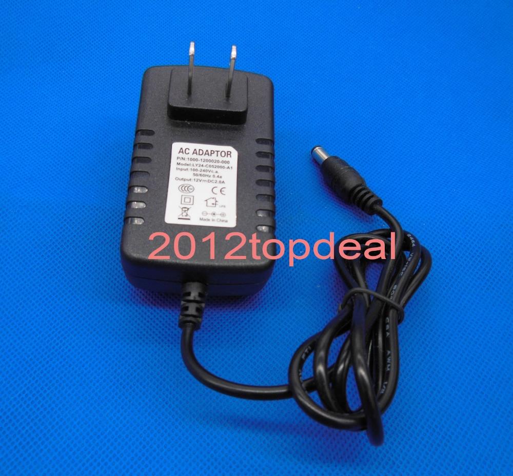 US $2 09 5% OFF AC 100 240V To DC 12V 2A EU US Plug Adapter Power Supply  For 3528 530 5050 Strip LED-in LED Bulbs & Tubes from Lights & Lighting on