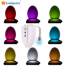 ФОТО  Upgraded Version Motion Sensor LED Toilet Night Lights UV-C Light Waterproof design with 2 Modes in 8 Colors