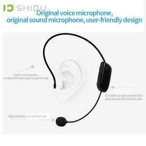 Image 3 - Shidu s615 ultra sem fio amplificador de voz uhf portátil mini alto falante áudio usb lautsprecher para professores tourrist yoga instrutor