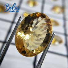 Bolaijewelry,100%Natural big citrine oval 19.05*25.05*10.85mm 26.30ct loose gemstone for jewelry