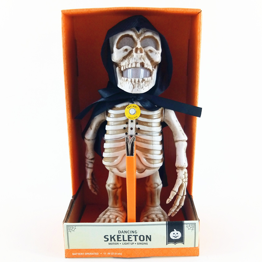 цена  Halloween Trick Ghost Dance Trick Toys According To The Control Industries Dance Ghost Skeleton Toys  онлайн в 2017 году