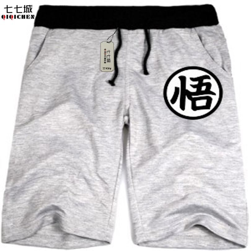 Dragon Ball Shorts Goku Men Japanese Anime Cartoon Casual Shorts Funny Shorts Wukong Clothing Wholesale