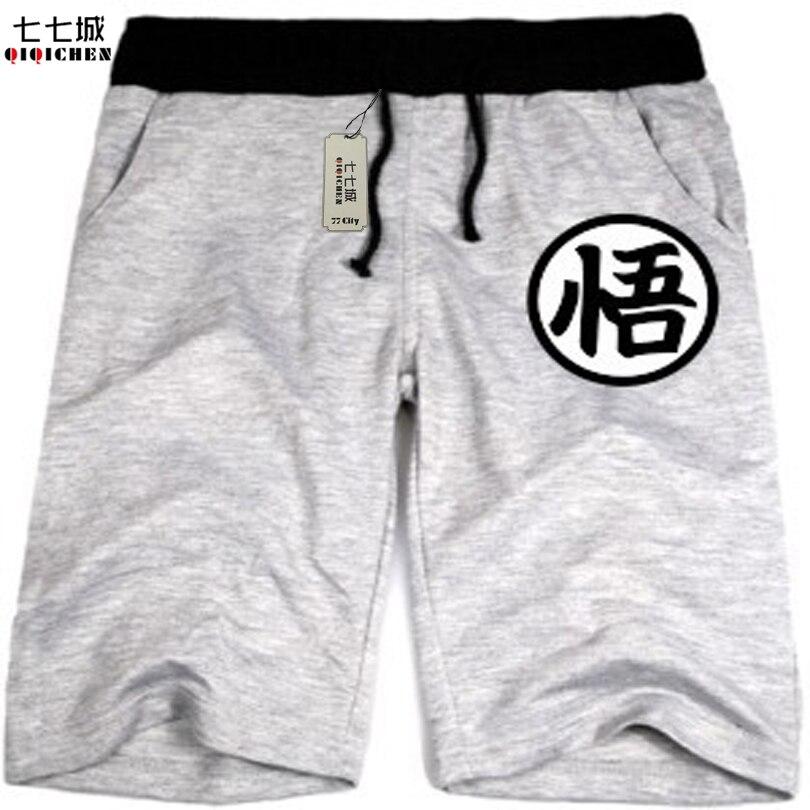 Dragon Ball Shorts Goku Men Japanese Anime Cartoon Casual Shorts Funny Shorts Wukong Clothing Wholesale