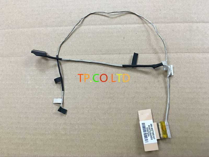 Original LCD LED VIDEO DISPLAY CABLE for HP Chromebook 11-2210nr DD0Y07LC010 DD0Y07LC020 lc171w03 b4k1 lcd display screens