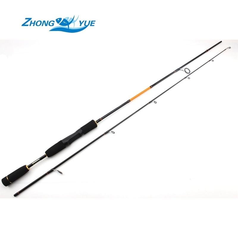 2017 NEW Fishing 캐스팅로드 1.8M Lure Rods 파워 M 루어 4-10g 낚시 도구 Sea Rod 최저 이익 ePacket 무료 배송