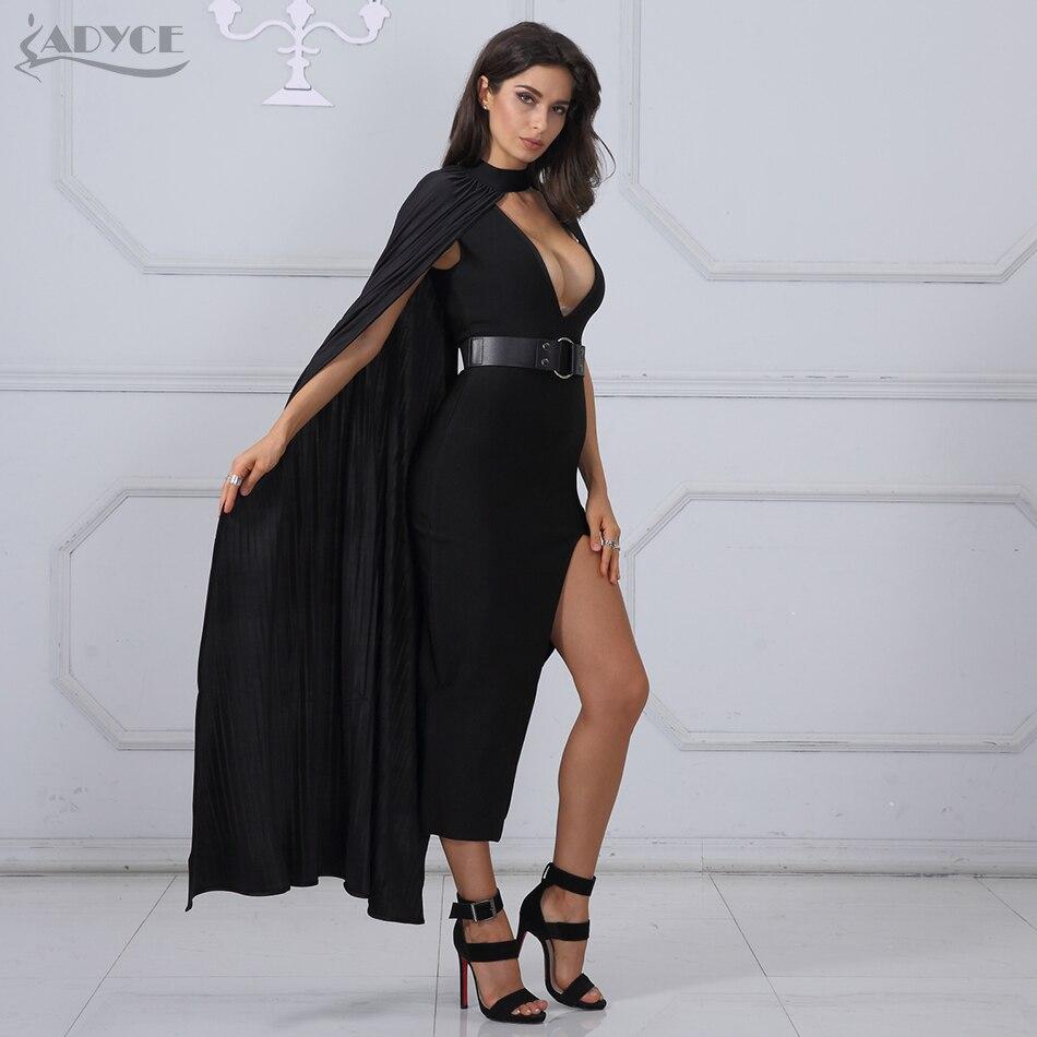 Adyce Yeni Yaz Bandaj Donu Qadın Vestidos Verano 2019 Seksual - Qadın geyimi - Fotoqrafiya 1