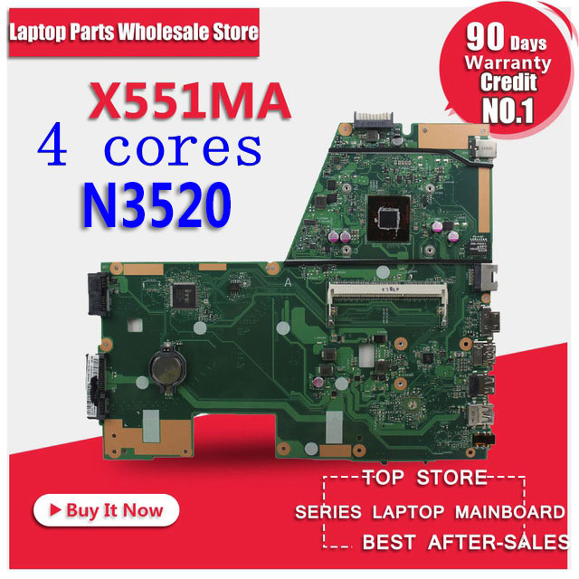 X551MA Motherboard N3520 2.167GH For ASUS F551MA X551MA D550M laptop Motherboard X551MA Mainboard X551MA Motherboard test OK 4cores n2930 1 833ghz cpu x551ma motherboard for asus f551ma x551ma d550m laptop motherboard x551ma mainboard x551ma motherboard
