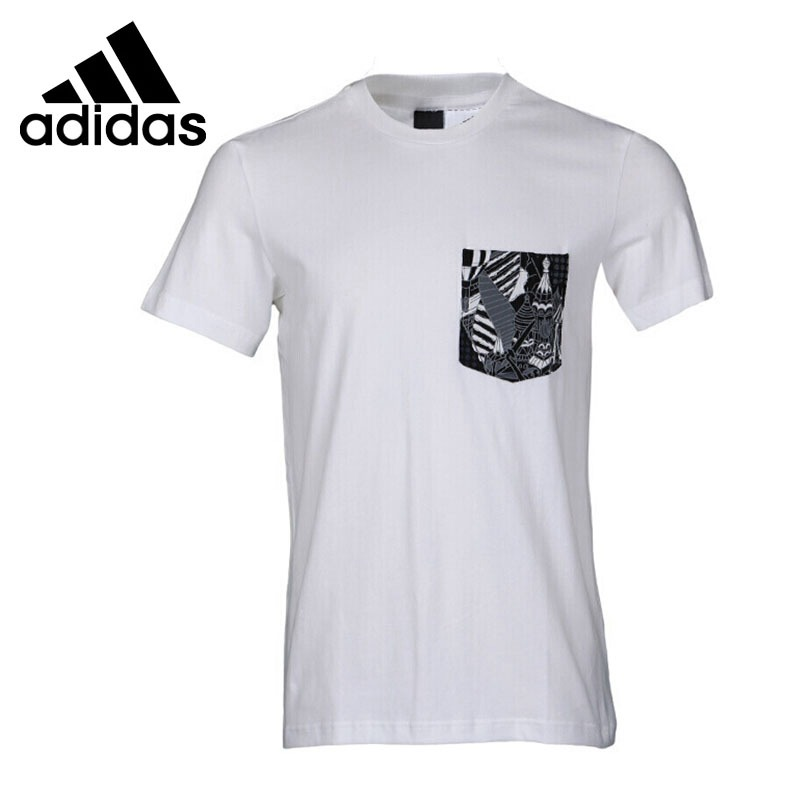Original New Arrival  Adidas GFX T PKT AOP Men's T-shirts short sleeve Sportswear