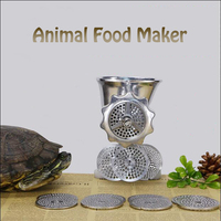 Manual Birds Fishing Bait Granulator Pill Making Machine/Pelleter/Animal Food Maker Pellet mell