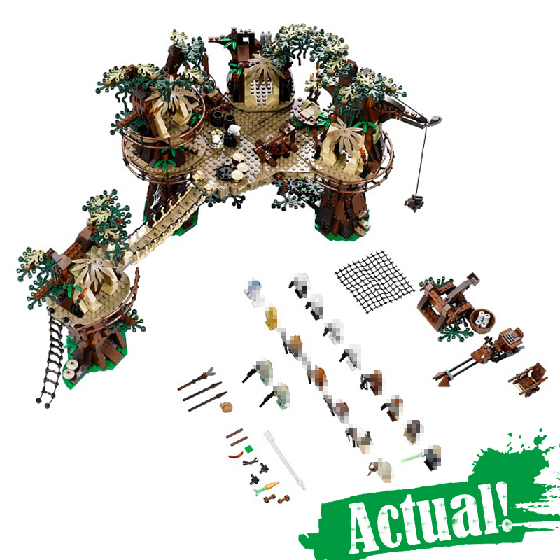 IN STOCK 1990pcs 05047 Star Series War The E Set wok Village Model Building Blocks Bricks Educational Funny Boy Toys Lepin rollercoasters the war of the worlds