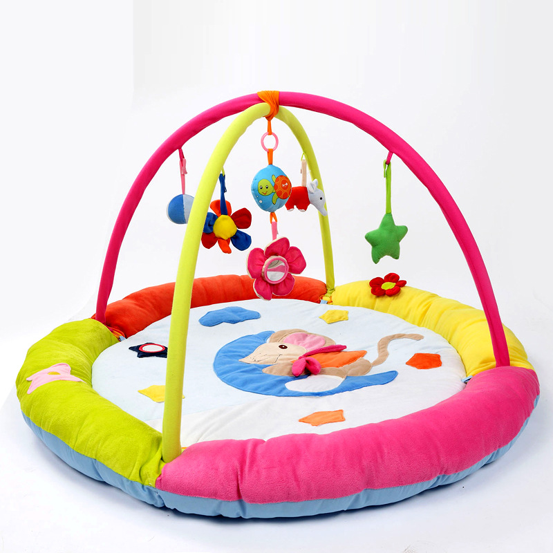 Huge Baby Play Mat Fun Mouse Colorful Baby Crawling Pad Educational Play Activity Gym Blanket Best Gifts Toy For Baby Kids