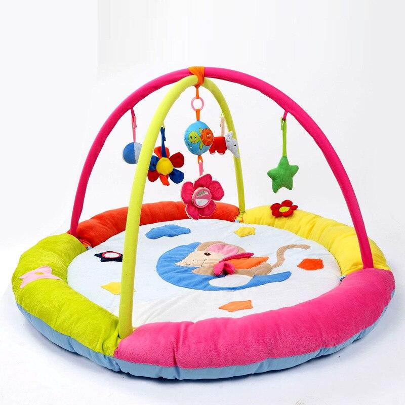 Tapis de jeu énorme bébé souris amusante coloré bébé ramper Pad activité de jeu éducatif Gym couverture meilleurs cadeaux jouet pour bébé enfants