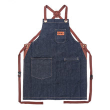 Модный джинсовый фартук для шеф повара weeyi Кухонный Фартук