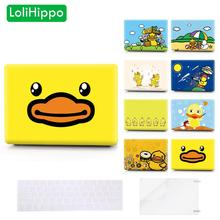 LoliHippo Lovely Duck Series Protective Case Hard Shell Protect Cover for Apple Macbook 11 12 13″ 15″ Air Pro A1466 A1534 Retina
