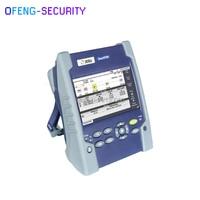 JDSU OTDR Inteligente E100AS  30/30dB Optical Time Domain Reflectometer  SM 1310/1550nm OTDR localizador visual de falhas