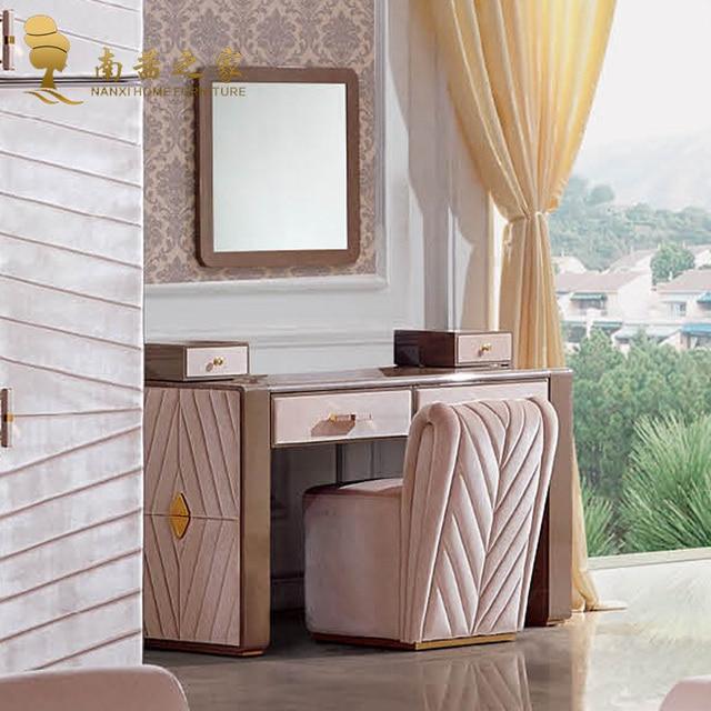 Coiffeuse avec miroir et chaise chambre chambre coucher meubles mobilier italien dans commodes - Miroir dans chambre a coucher ...