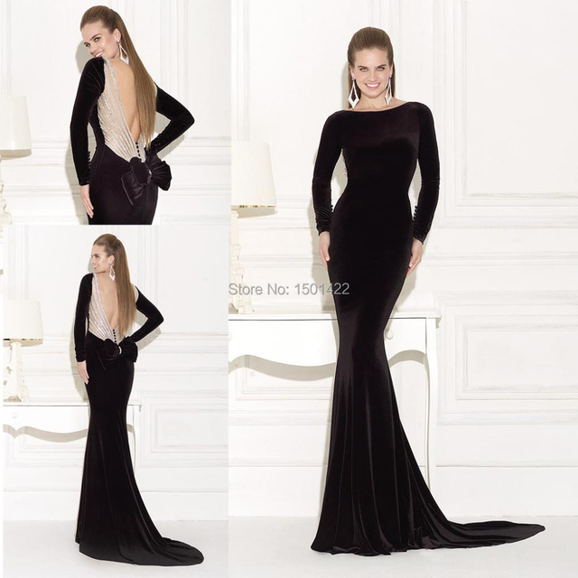 Low-Back Evening Gowns