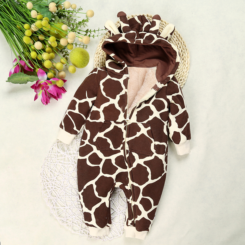 DLY074-Newborn-Clothing-Cotton-solid-thick-hooded-baby-warm-fall-and-winter-clothes-Jumpsuit-animal-style-Cartoon-Rompers-Cotton-1