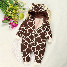 Hooded Animal or Cartoon Romper 6-18m