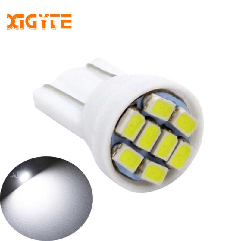 Promotion white led T10 8 smd 8 leds 8SMD car led 194 168 192 W5W 3020smd super bright Auto led car lighting wedge Car Styling