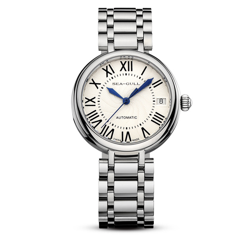 Automatic mechanical watch fashion casual business simple steel belt female table 816.417L