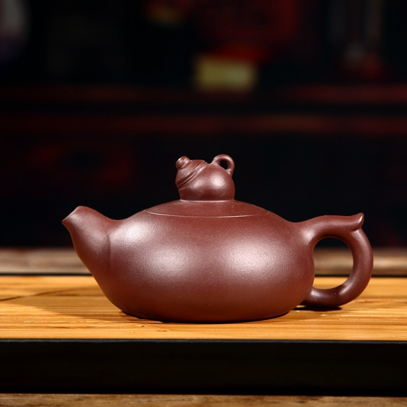 Factory Direct Selling Customized Wholesale Special Price Handmade Pot Kungfu Teaware Set Teapot Purple Sand Zhou TingFactory Direct Selling Customized Wholesale Special Price Handmade Pot Kungfu Teaware Set Teapot Purple Sand Zhou Ting