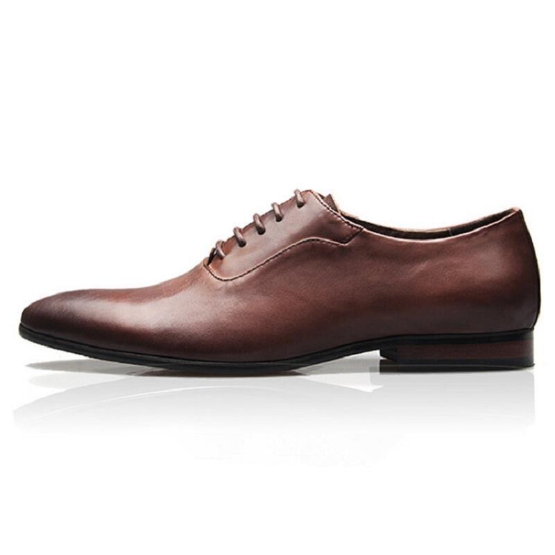 marrom Clássico Preto Oxford Marca De Partido Luxo Dos Sapatos Negócios Masculinos Cavalheiro Vestido Toe Couro Apontou Northmarch Homens Z7T1waZq