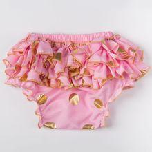 Sprzedaż Baby Girl różowy i złoty bloomer pieluchy pokrywa polka dot wzburzyć bum ciasto smash bloomer wzburzyć bum bloomer tanie tanio Dla dzieci Szorty Pasuje prawda na wymiar weź swój normalny rozmiar Dziecko dziewczyny BB01 COTTON Posh Tang Shorts pink lavender black coral aqua