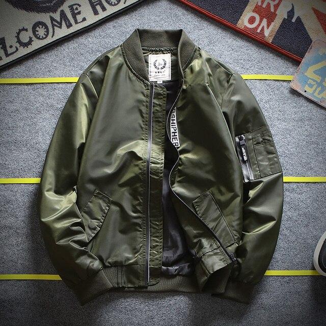 High Quality Ma1 Army Tactical Military Flight Windbreaker Pilot US Air  Force Bomber Jacket Men s Coat Plus Size Overcoat 4XL 1a2b8b9c001