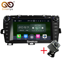 Octa Core Android 6 0 Car DVD Multimedia For Toyota Prius 2009 2010 2011 2012 2013