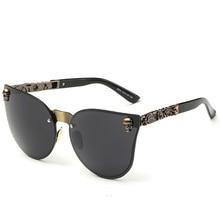 Unisex Skull Sunglasses
