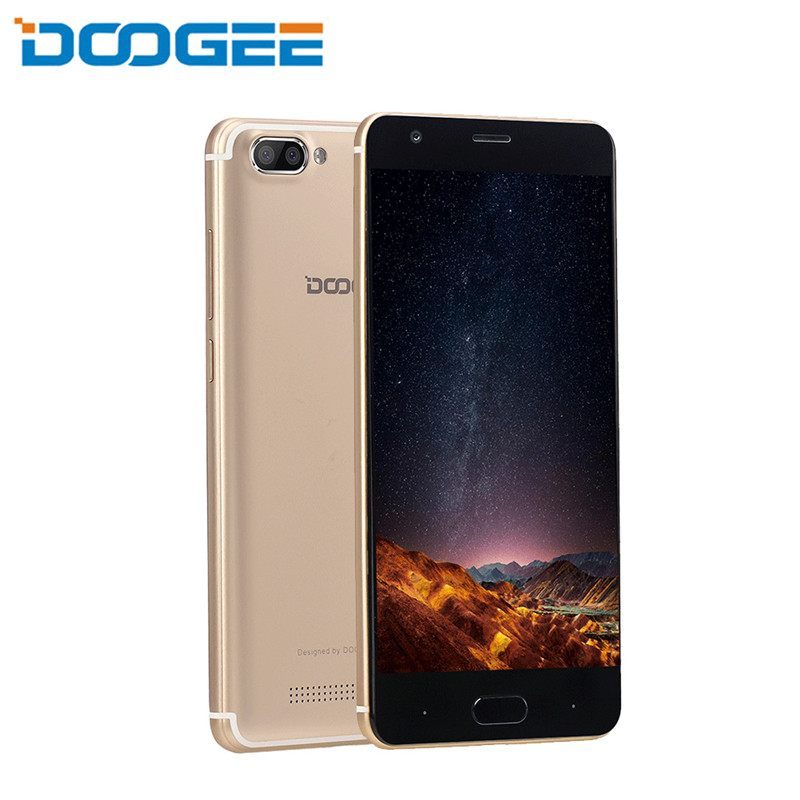 Doogee X20 2GB 16GB smartphone Android 7.0 MTK6580A Quad Core 5.0inch 1280x720 HD Mobile phone Dual Camera 5.0MP+5.0MP 2580mAh