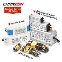 Controlador LED 1W 3W 5W 10W 20W 30W 36W 50W 100W 300mA 600mA 900mA 1500mA transformador de iluminación resistente al agua para la fuente de alimentación de la lámpara DIY