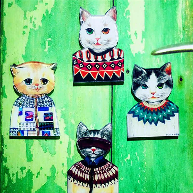 1 Pcs Meow Star Orang Acrylic Bros Lencana Pin Ransel untuk Wanita Pria Pakaian Bros Pin Pada Tas Sepatu Syal gesper Kucing Perhiasan