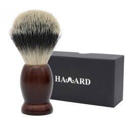 HAWARD бритвы 100% барсук волос для мужчин бритья кисточки коричневая ручка применение для Double Edge Детская безопасность бритвы прямо