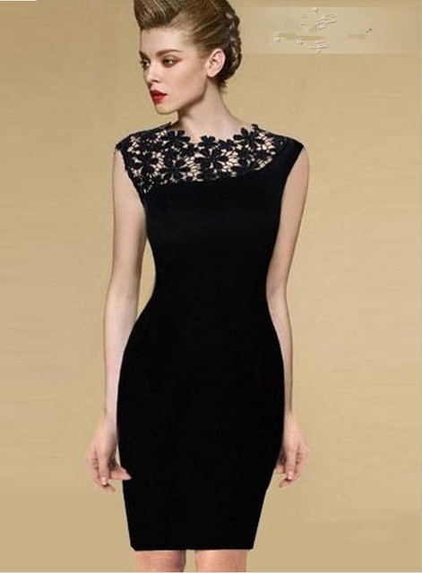 Black mini formal dresses